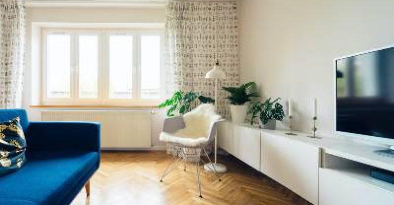 Plantas em apartamentos