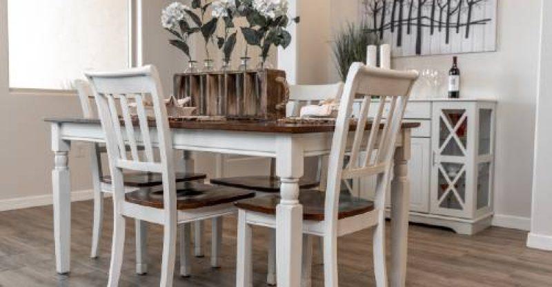 Como decorar sua sala de jantar gastando pouco