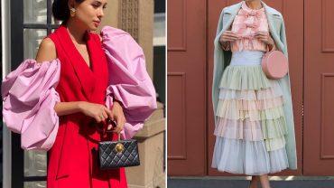 tendência da moda do passado que estão voltando
